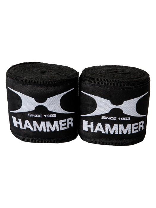 Hammer Elastic 2,5 m fekete boxbandázs