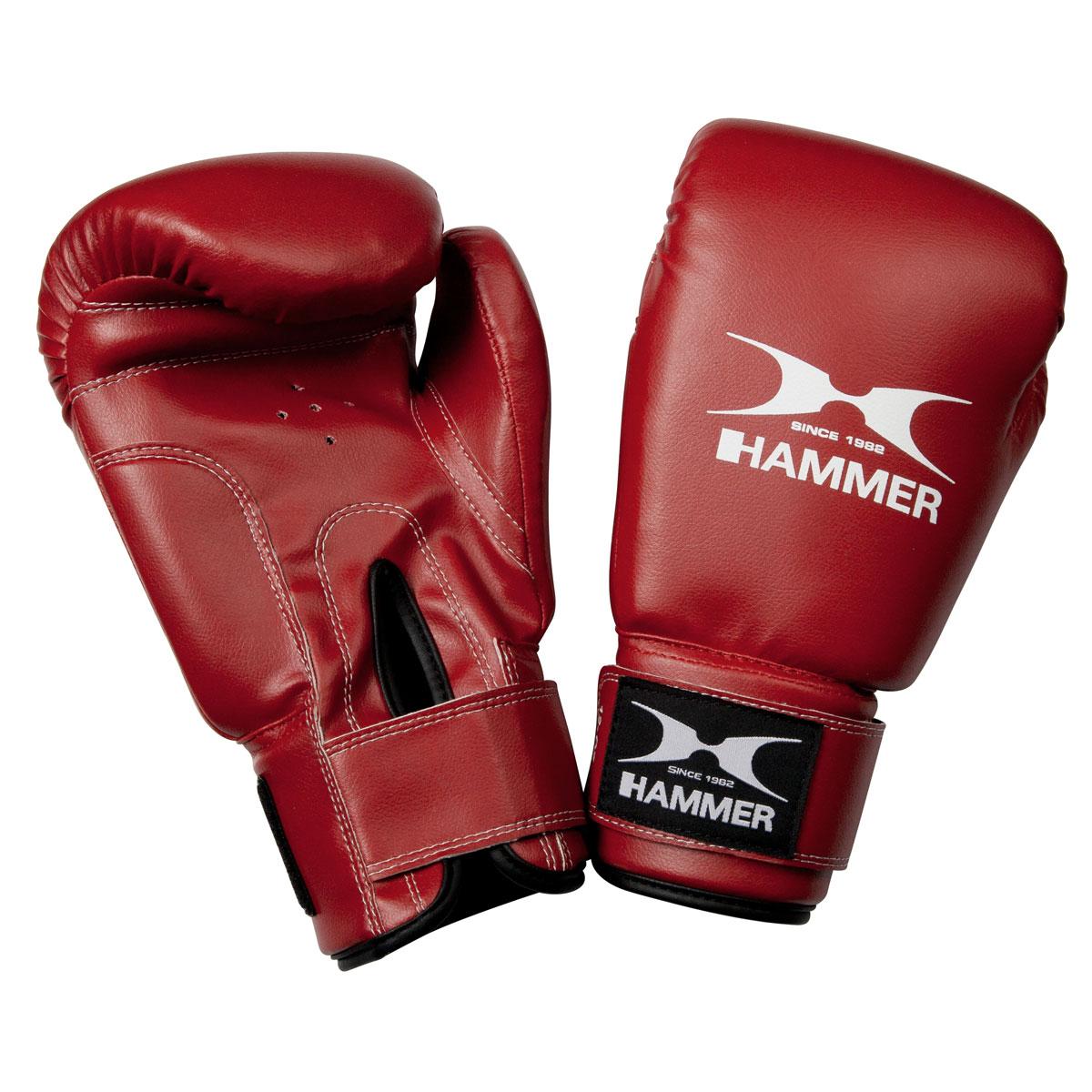 Hammer Fit 12 oz piros boxkesztyű